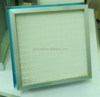 610x610x75mm 99.99% Gel Seal Hepa filter H13 / liquid seal HEPA ULPA filter for HEPA BOX in Pharmaceutical clean room