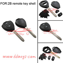 Toyota land cruiser prado 2 button remote key Case For Toyota Keys Case