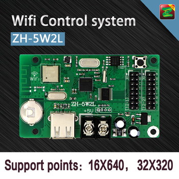 High Quality LED Screen Asynchronous Cheap Price Wifi ZH-5W2L Controllers for Sale