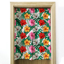 G&amp;<strong>D</strong> OEM Manufacturer Japanese Door Curtain With Flowers