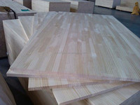 Indoor usage pine finger joint board with E0 glue for korea market