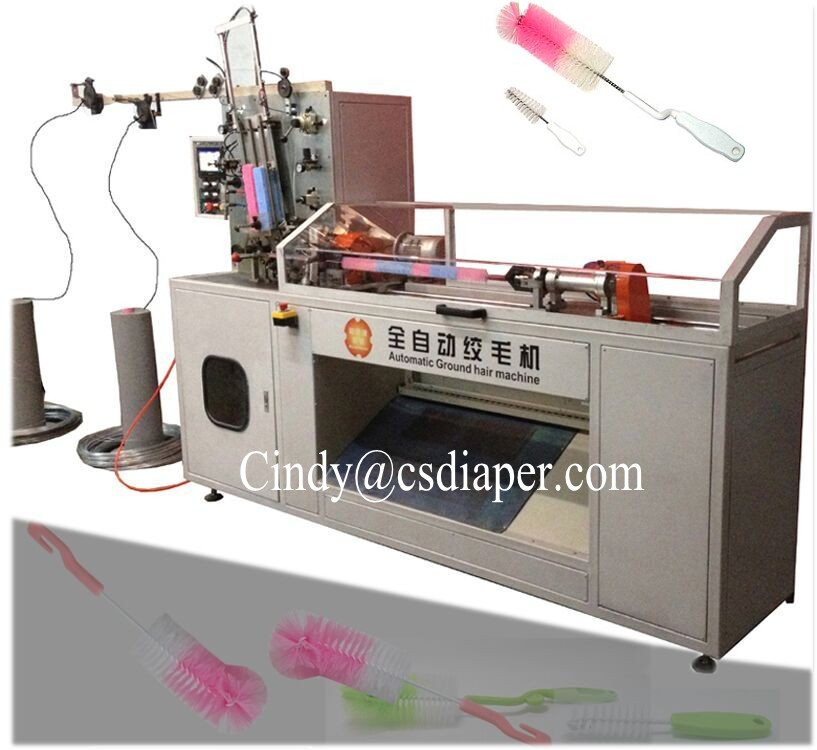 Baby feeder brush making machine manufacturer