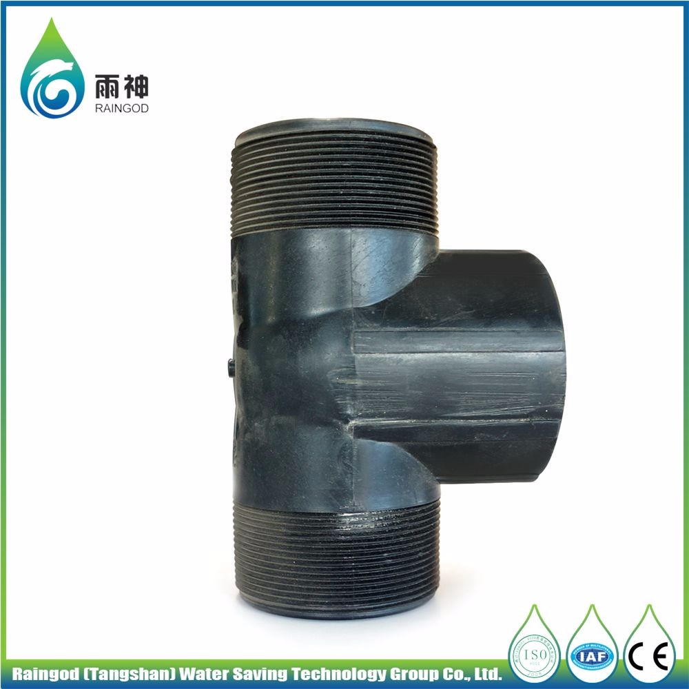 Shower Hose Fittings Irrigation Tape Block Connector Drip Connect Tee