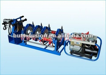 110~250mm PPR Pipe hydraulic butt fusion machine to butt joint welding