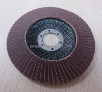 "4""-7"" zirconia coated flap wheel disc for inox,stainless steel"