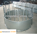 hot dipped galvanized steel sheep fence panel/round bale feeder