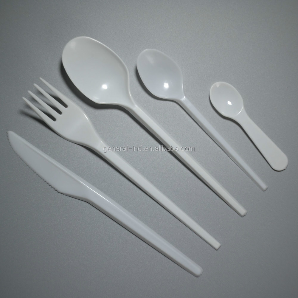 2015 Newest Plastic Reusable Disposable Cutlery