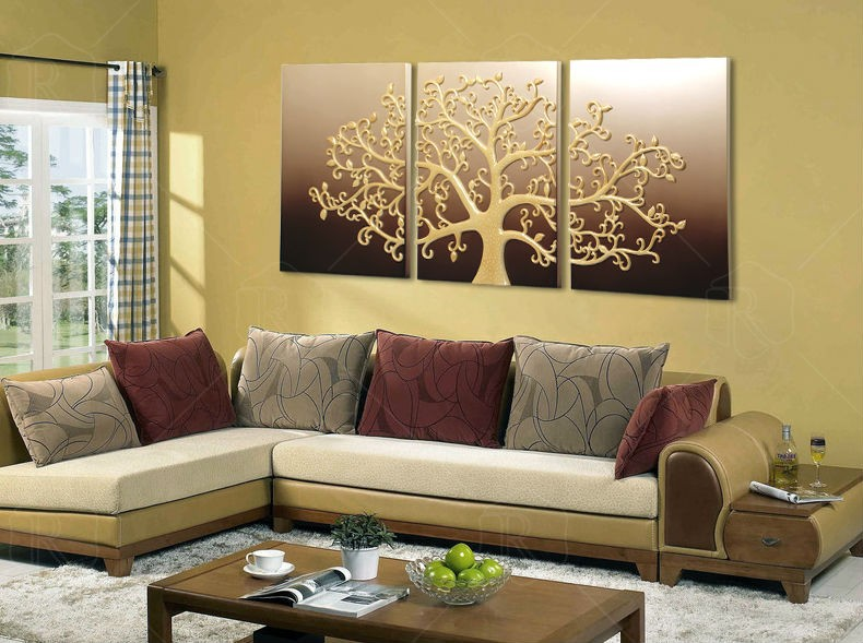 Handmade abstract background wall art picture living room background picture