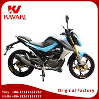 Kavaki Factory Outlet Gas Autobike 150CC Street Motorcycle Dirt Bike 150CC Chopper Sales To Europe