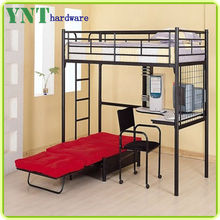bunk bed with pull out of bed