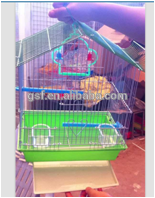 hight quality GSF White Hanging Metal Bird Cage Wire Mesh for Decoration training pigeon