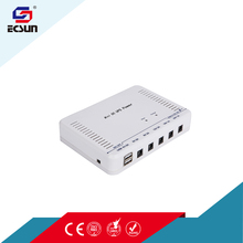 24W Portable Mini UPS DC Output 5V 12V and 24V