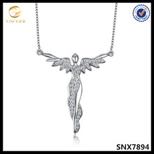 Sterling silver status of Liberty necklace pure silver faith jewelry