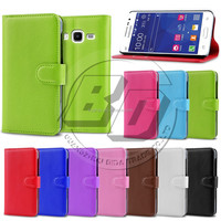 Fashion Flip Litchi Stand Wallet Style PU Leather Case For Samsung Galaxy Core Prime G360 G3608