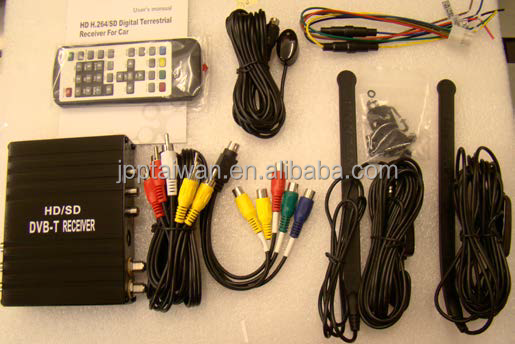 Mini Mobile HD/SD DVB-T Receiver with Diversity Tuner