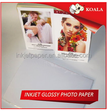 a3 a4 a5 a6 4r 5r 6r INKJET photo paper 115g 135g 150g 180g 200g 230g 260g single/double side glossy photo paper wholesale price