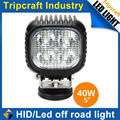rectangle truck led driving light, 40W LED DRIVING LIGHT