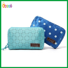 Encai Dot Design Travel Cosmetic Pouch Organizer/Makeup Organizer Bag With Compartment/Women Bath Bag Insert