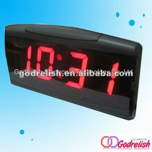 led digital desk clock,electronic table clock