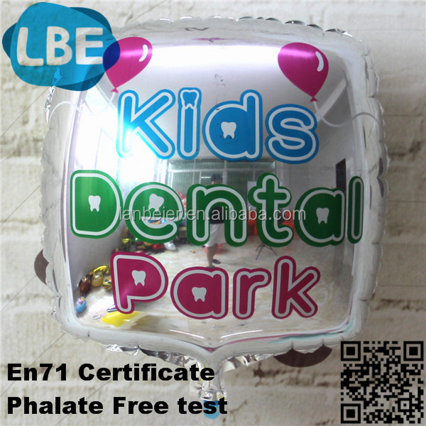 card shaped rectangle mylar metal baloons