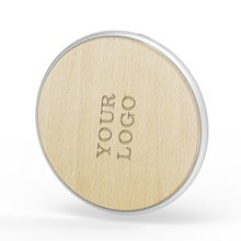 Profession Corporate Gift Custom Design 10 <strong>W</strong> Fast Charging 5V 2A Wooden Wireless Charger