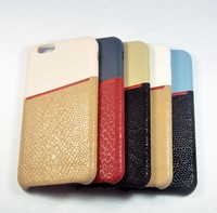 2016 cell phone case for iphone 6 leather case genuine cell phone accessory
