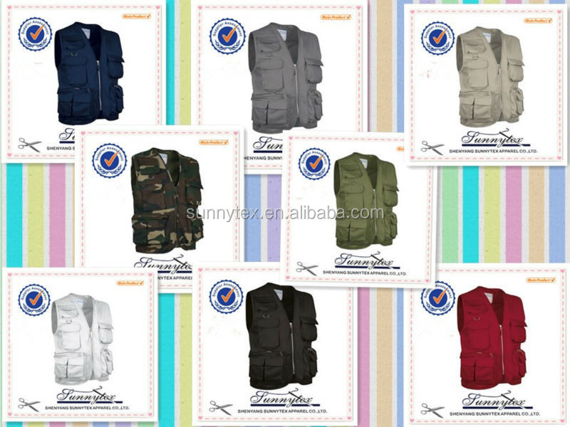mensCheap Wholesale fishing Winter Vests & Waistcoats no padded outdoor wear