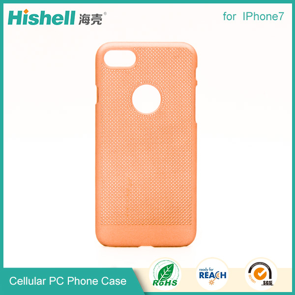 Customized Hard Plastic Heat Sink Cooling Case Cover for iphone7/7 Plus