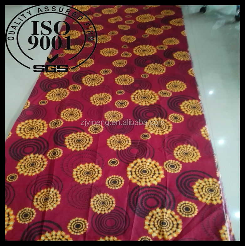 very cheap fabric from china of 100% polyester with printing for bedding