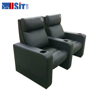 USIT UV-837AR small steps push back cinema recliner chair for theater renovation