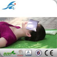 High quality Lavender Satin yoga eye pillow
