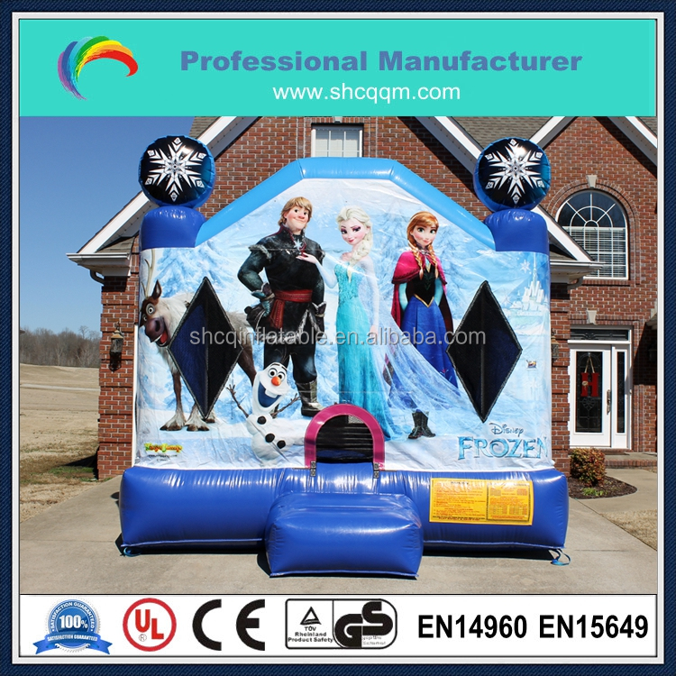 Hot sale frozen elsa inflatable jumping bouncer for sale,high quality inflatable bouncer