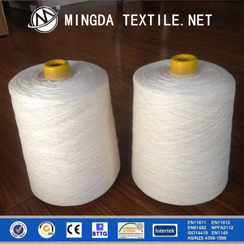 dope dye flame retardant meta-aramid para aramid anti-static fiber yarn for uniforms fabric