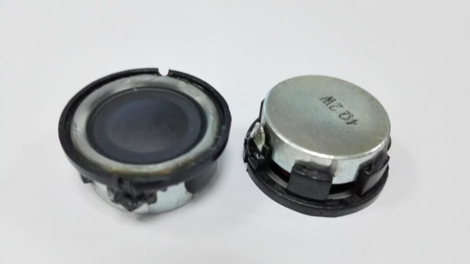 23mm 2W bass speaker driver unit good quality , hi-fi perfect sound speaker