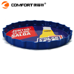 light anti-slip round pp plastic popular design foam tray