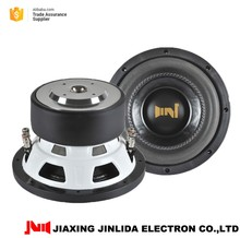 8inch Cheap subwoofer for sale with steel basket for car RMS 250W High performance