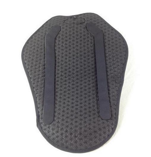 Motorcycle back spine protector insert