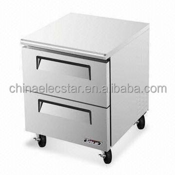 Stainless Steel Refrigerator kitchen Drawer, UL-/NSF-/CEC-certified, For Outdoor Use with Rainproof Design