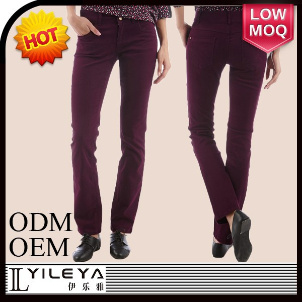 fashion office lady different colors women all kinds of pants