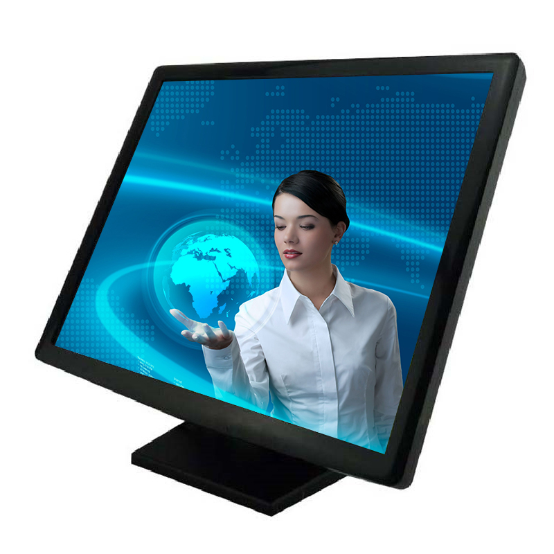 TFT LCD pos touch screen monitor 17 inch with VGA/USB