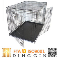 Large steel house shape dog cage suppliers