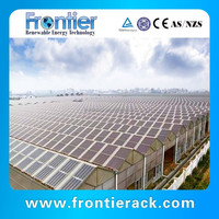 solar steel structure agriculture greenhouse