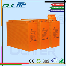 High frequency solar battery 2v 1200ah dry cell lead acid ups bat with high quality