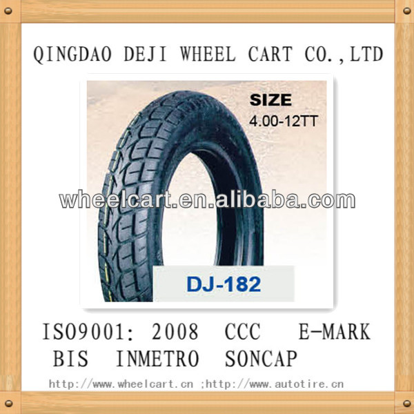 oem used blue color motorcycle tires 4.00-12