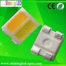 2 in 1 Warm White + Cool White 3528 Diode SMD 3527 LED Chip