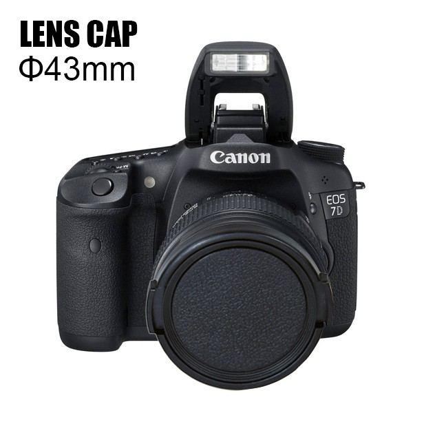 Various sizes ABS lens cover universal camera lens cap