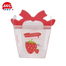 Fancy candy pvc packaging box /Clear plastic pakaging box for candy