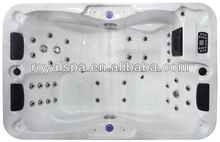1 Person Lounge Whirlpool Bathtub /Outdoor Spa/ Hot Tub for 3 Persons