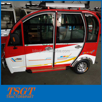 newest hot sale 130cc/150cc/175cc/200cc/300cc bajaj taxi rickshaw with cabin made in China
