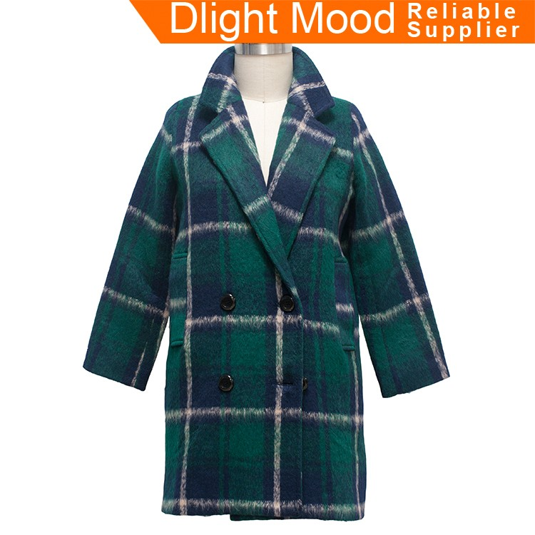 China professional manufacture ladies overcoat designs